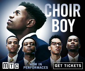 Choir Boy On Broadway - Box